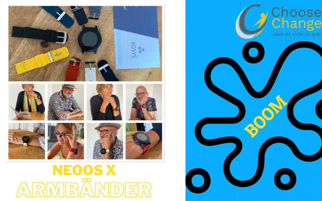 03 neoos x von kosys: Neue Armbänder erhältlich